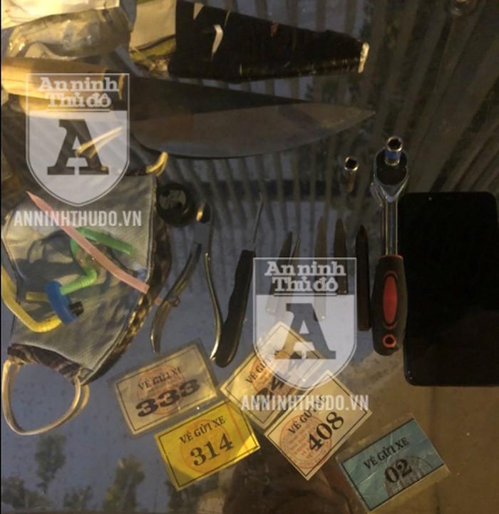 Vừa nhảy xe AirBlade chưa được một tháng, kẻ trộm thủ dao bầu bị 141 bắt gọn - Ảnh 2.
