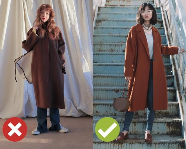 """Chưa cần biết bạn có cao thon hay không, cứ áp dụng 3 tips sau là diện áo khoác dài chẳng lo bị """"dìm"""" dáng - Ảnh 3."""