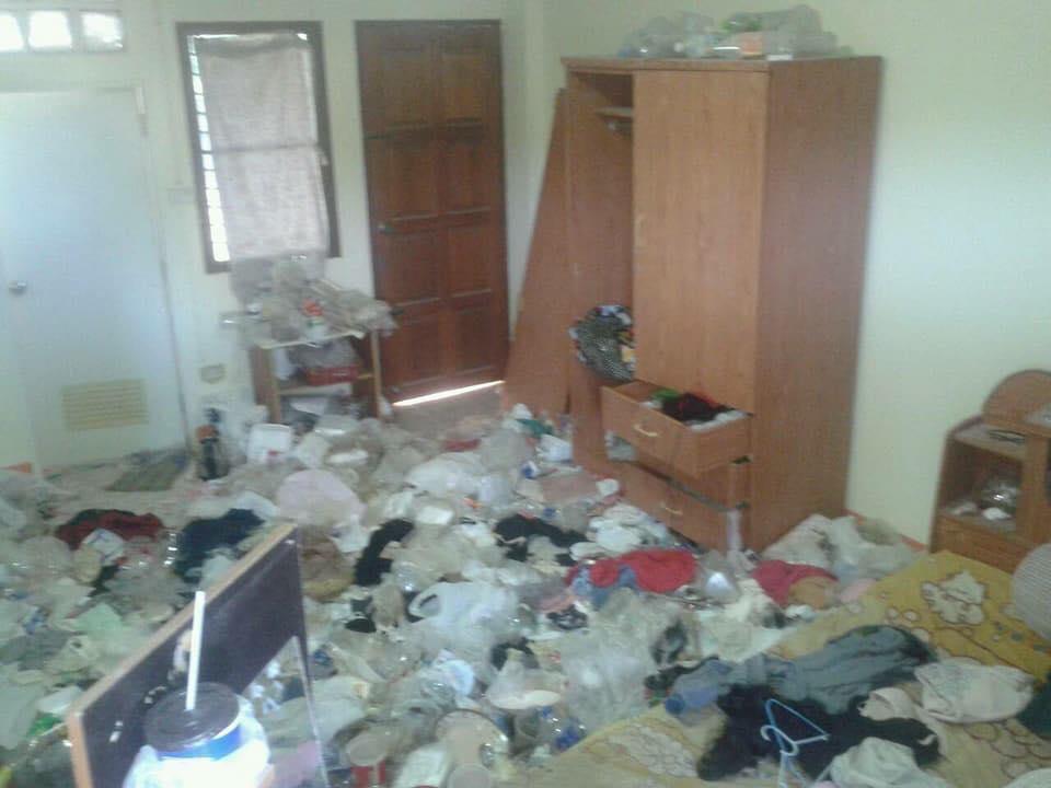 Cho nữ sinh viên thuê phòng trọ, chủ nhà tá hoả khi nhà mình biến thành bãi rác khổng lồ, bốc mùi hôi thối - Ảnh 5.