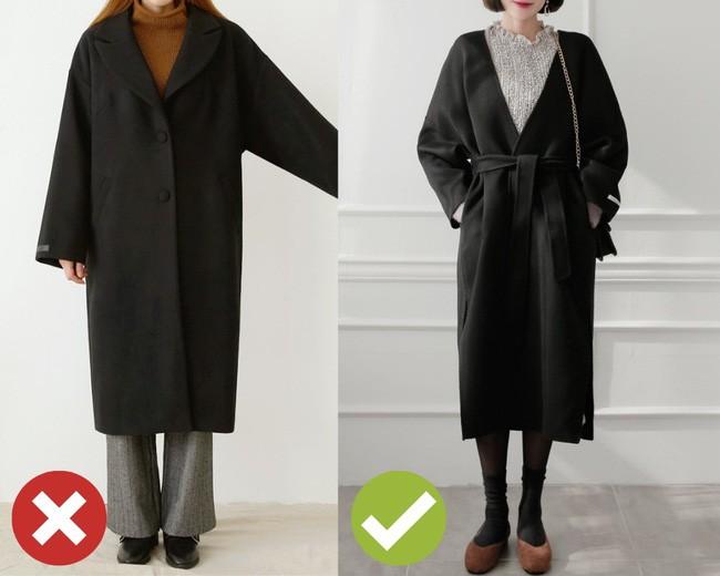 """Chưa cần biết bạn có cao thon hay không, cứ áp dụng 3 tips sau là diện áo khoác dài chẳng lo bị """"dìm"""" dáng - Ảnh 5."""