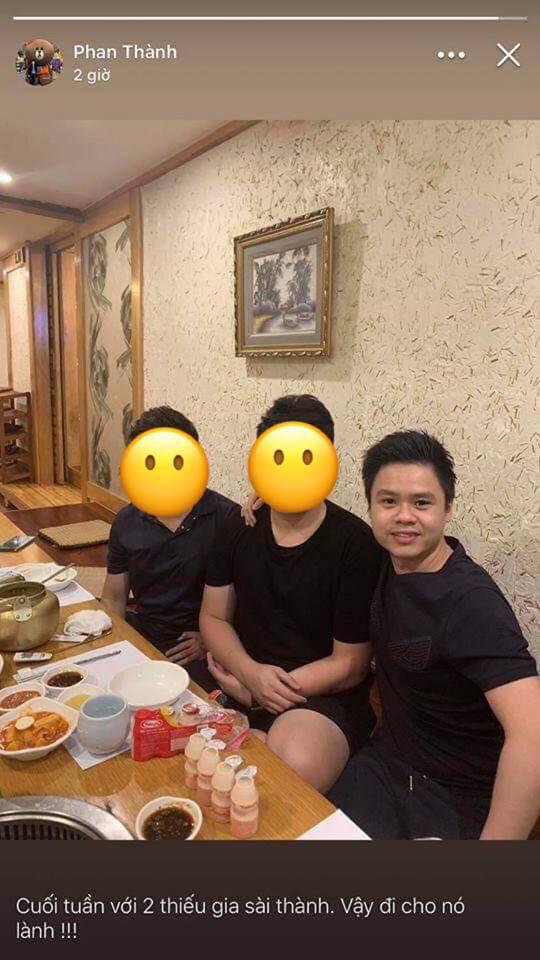 Phan Thành khoe ảnh cuối tuần không có mặt Primmy Trương, dân tình chú ý caption: Vậy đi cho nó lành - Ảnh 1.