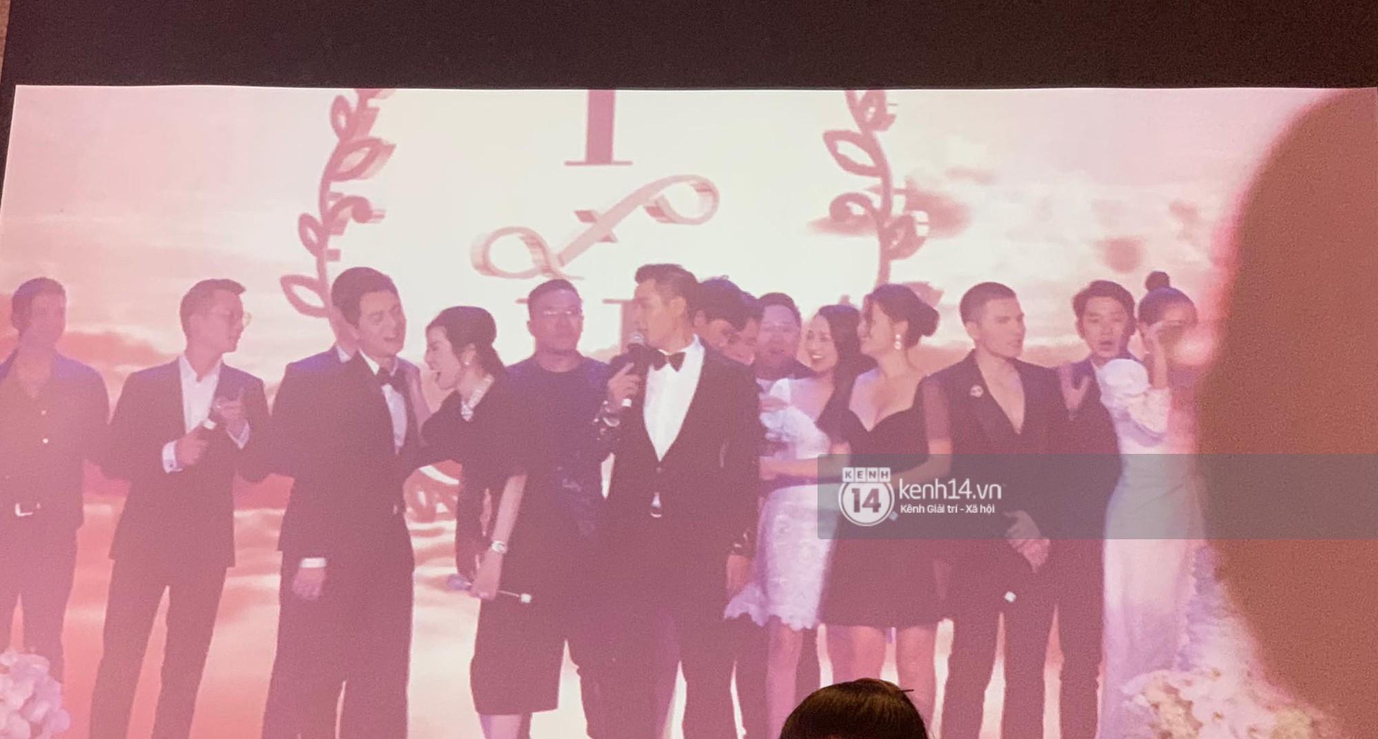 Phạm Quỳnh Anh chủ động nhường mic cho Bảo Anh khi hát trong đám cưới Lê Hiếu sau ồn ào người thứ 3 - Ảnh 2.