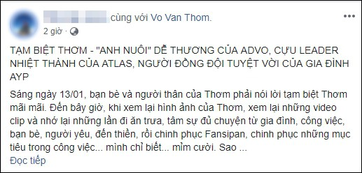 Cộng đồng mạng kêu gọi quyên góp, giúp đỡ gia đình VĐV đột quỵ tử vong trên đường đua HCMC Marathon 2019 - Ảnh 7.