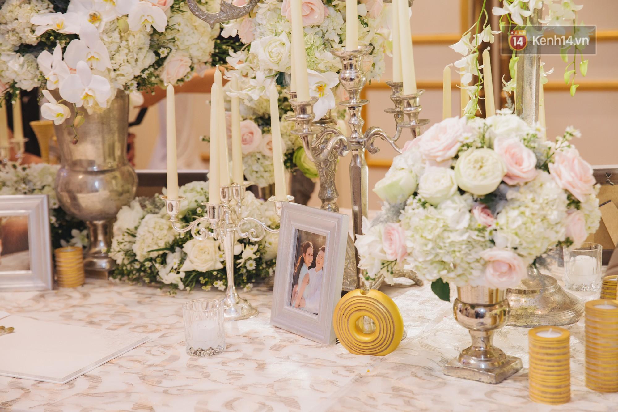 Hé lộ không gian cưới sang trọng của ca sĩ Lê Hiếu và bà xã Thu Trang - Ảnh 4.