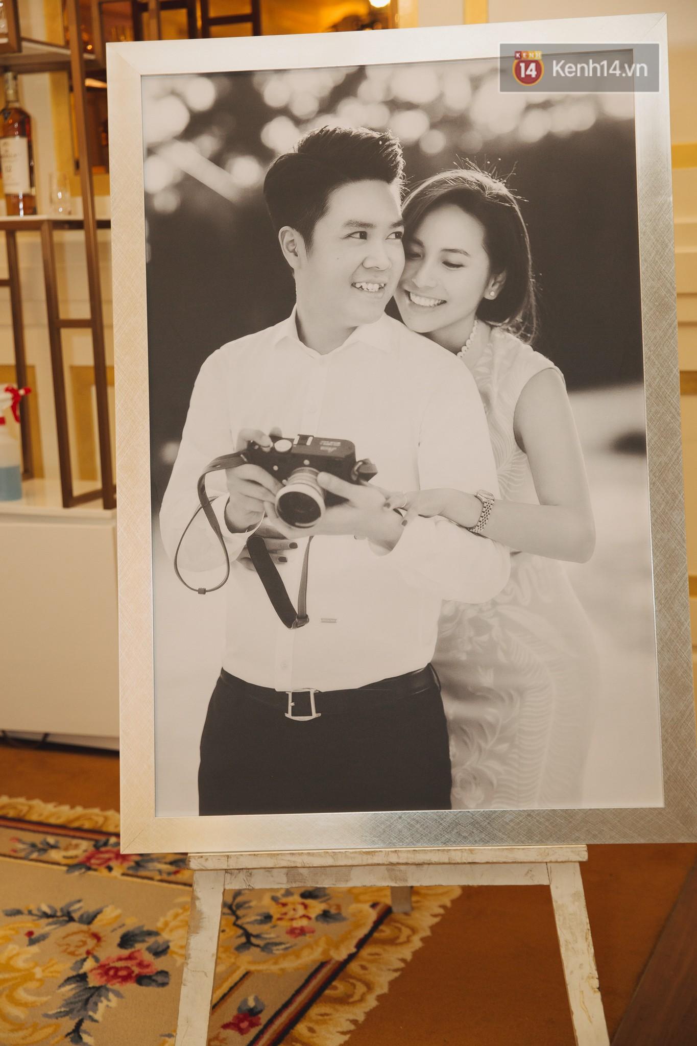 Hé lộ không gian cưới sang trọng của ca sĩ Lê Hiếu và bà xã Thu Trang - Ảnh 10.