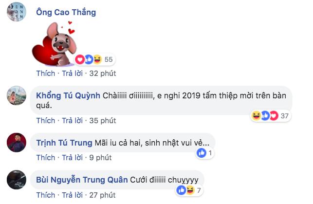 Chỉ đôi lời ngọt ngào Đông Nhi nhắn gửi Ông Cao Thắng ngày sinh nhật mà nhận về cả rổ comment cưới đi - Ảnh 2.