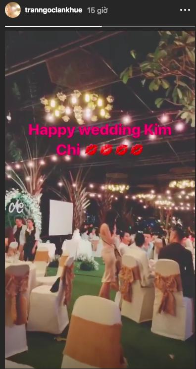 Nối gót Lê Hà, Kim Chi (The Face) cũng lên xe hoa về nhà chồng: Đám cưới kín tiếng nhưng có nhân vật đặc biệt này! - Ảnh 3.