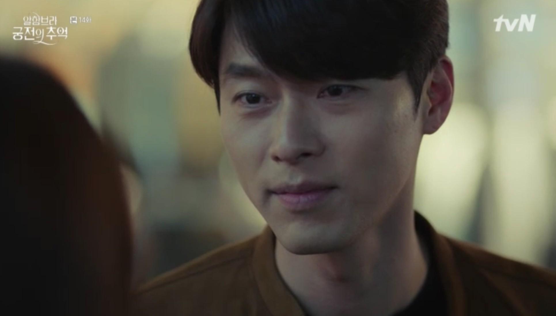 """Park Shin Hye khóc tiễn lâm li như thể Hyun Bin sắp ra chiến trường ở """"Hồi Ức Alhambra"""" - Ảnh 7."""
