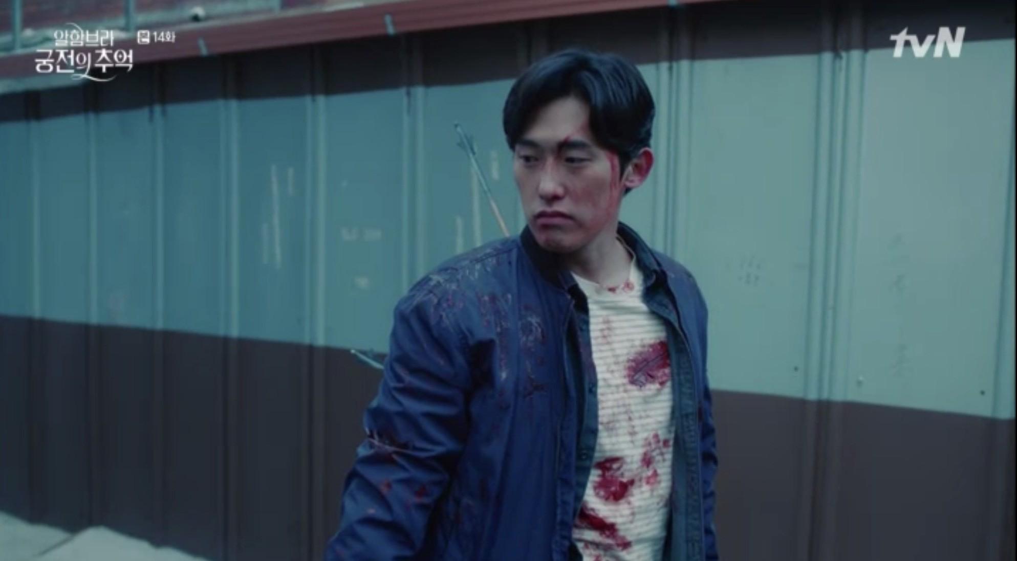 """Park Shin Hye khóc tiễn lâm li như thể Hyun Bin sắp ra chiến trường ở """"Hồi Ức Alhambra"""" - Ảnh 11."""