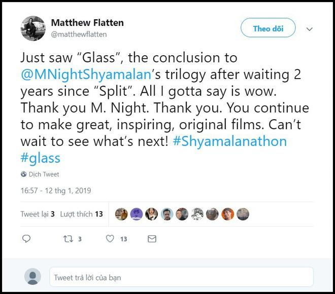 Mặc kệ giới phê bình chê tới tấp, người hâm mộ rần rần khen ngợi Glass sau xuất chiếu sớm - Ảnh 3.