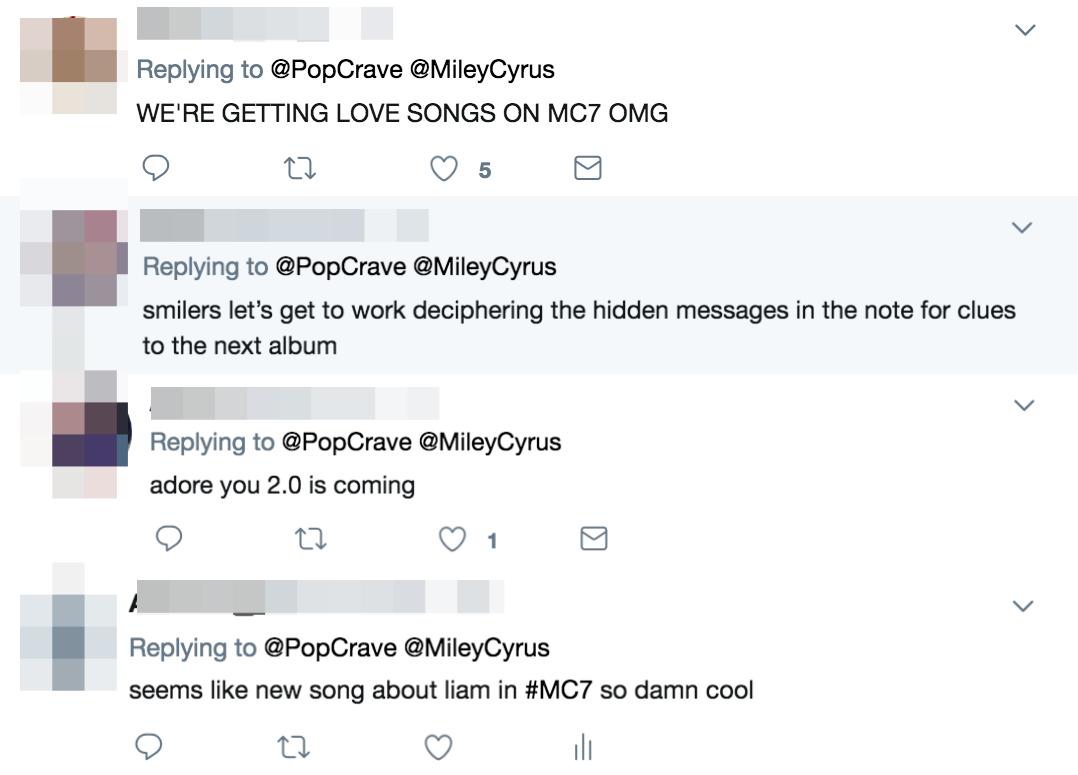 Miley viết sớ cảm động mừng sinh nhật Liam nhưng fan vẫn kịp soi ra được ẩn ý ca khúc mới đây này - Ảnh 2.
