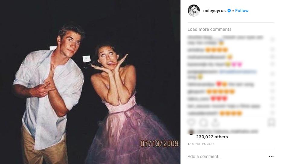 Miley khiến cả thế giới xúc động vì tâm thư chúc sinh nhật Liam: Em yêu cách anh để cho em được là chính mình - Ảnh 1.