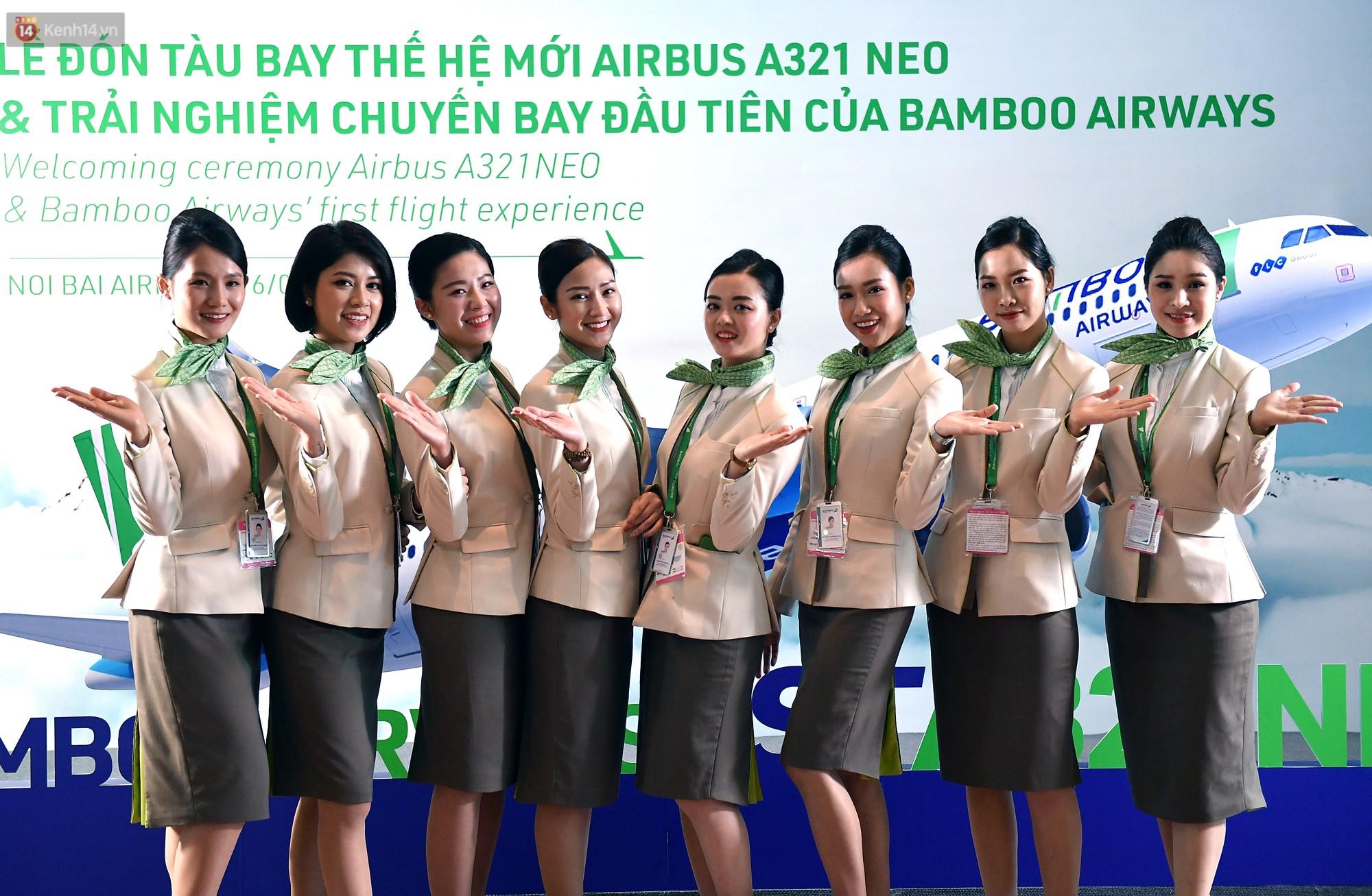 Mặc đồng phục vừa đẹp vừa trendy của Bamboo Airways, tiếp viên hàng không Việt trông xinh không khác gì tiếp viên Hàn - Ảnh 3.
