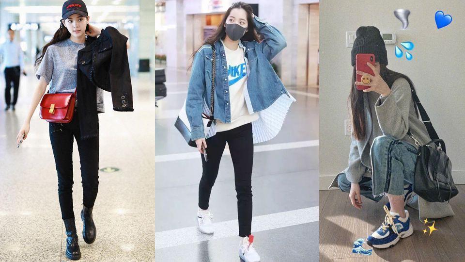 Vẫn biết Âu Dương Na Na giàu nhưng không ngờ cô còn sở hữu tủ sneakers đáng ngưỡng mộ - Ảnh 1.