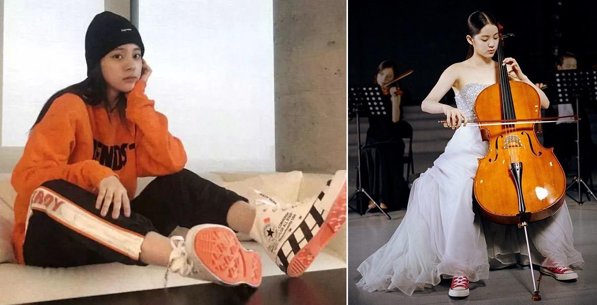 Vẫn biết Âu Dương Na Na giàu nhưng không ngờ cô còn sở hữu tủ sneakers đáng ngưỡng mộ - Ảnh 7.