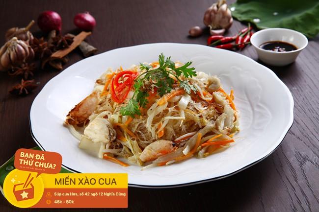 Loạt món ăn ấm sực, thơm nức mùi cua cho ngày lạnh tê người ở Hà Nội - Ảnh 12.