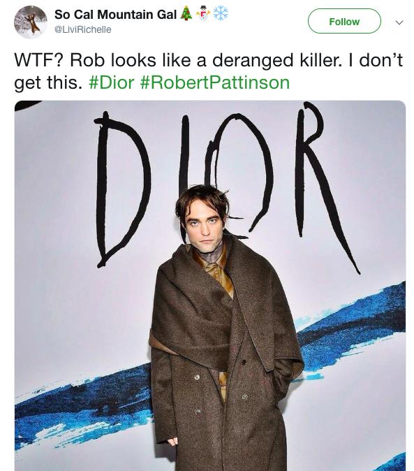 Từng đẹp trai nhất thế giới, Robert Pattinson bỗng kém sắc tới mức bị chê trông như kẻ giết người cuồng loạn - Ảnh 4.