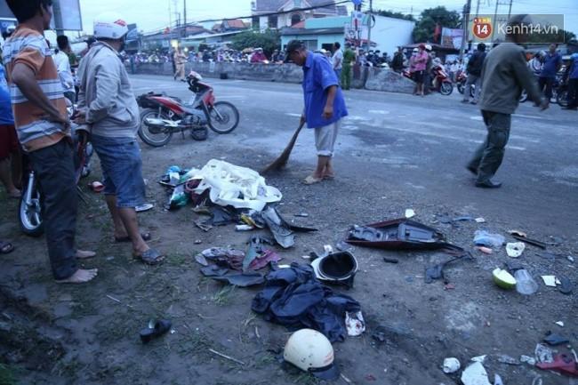 Tài xế container tông hàng chục xe máy khiến 4 người chết, 18 người bị thương đã ra công an trình diện - Ảnh 1.