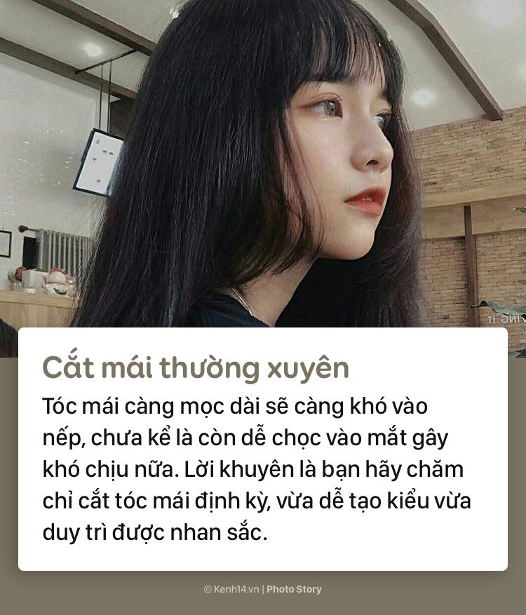 Học thuộc những tips sau để có phần tóc mái đẹp như gái Hàn - Ảnh 5.