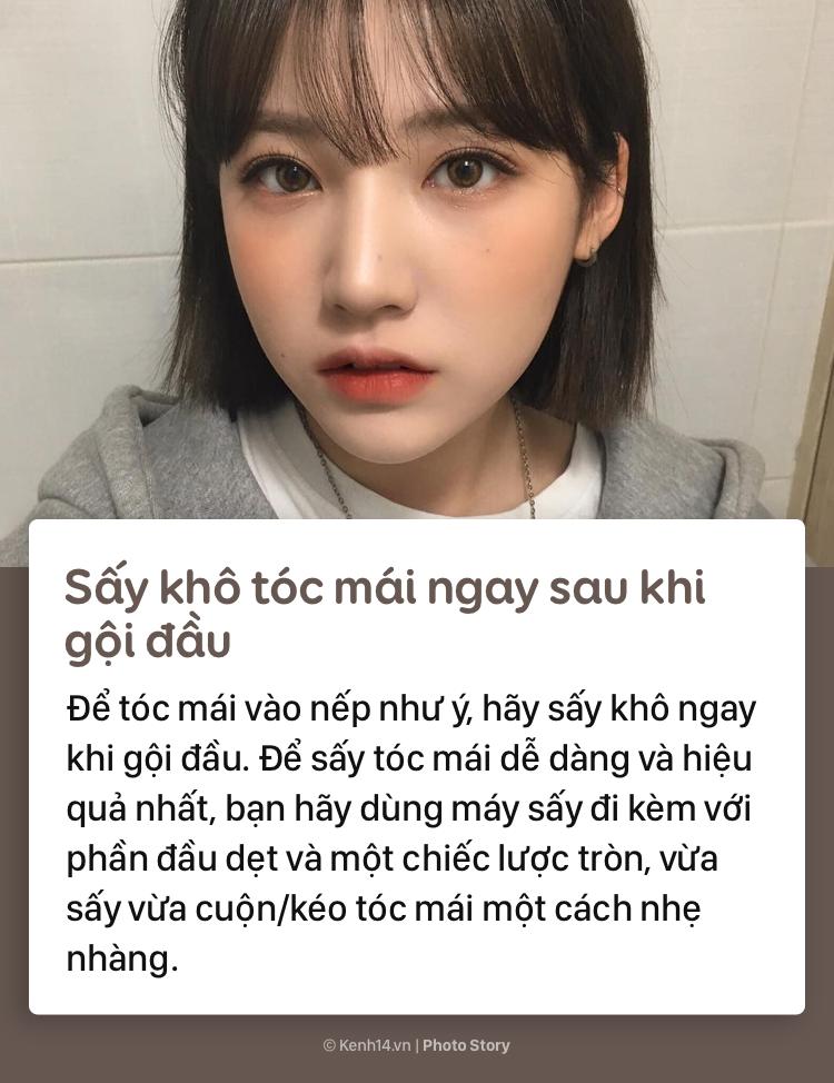 Học thuộc những tips sau để có phần tóc mái đẹp như gái Hàn - Ảnh 3.