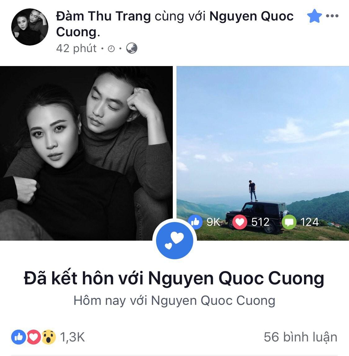 Sáng đám hỏi, chiều Đàm Thu Trang đã khẳng định chủ quyền với Cường Đô La bằng hành động này? - Ảnh 1.