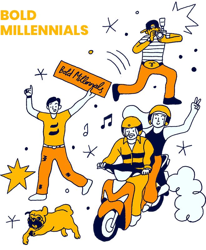 Bold Millennials: Câu chuyện về một thế hệ không còn trẻ lắm nhưng đã và đang sống một đời rất đậm - Ảnh 9.