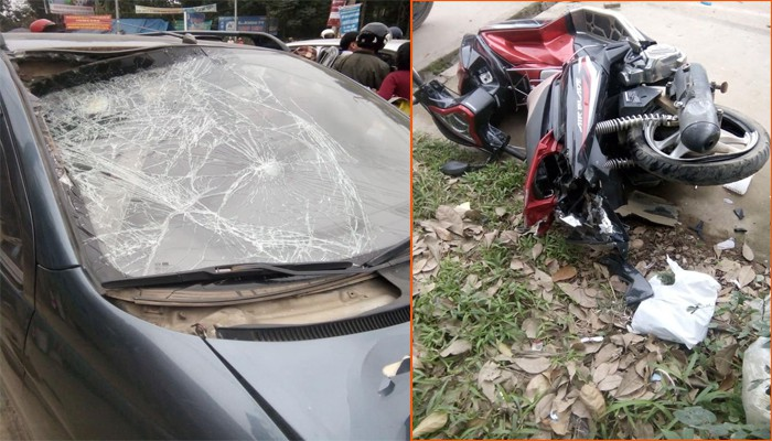 Two assaults two people who buy Hanoi Street goods - Photos 1.