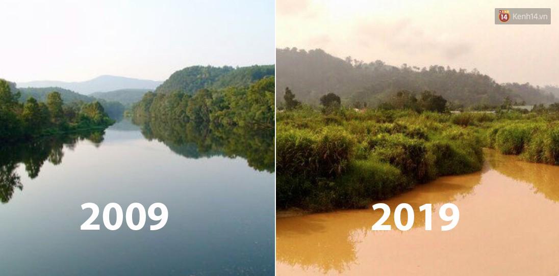 Khi Trái đất cũng theo trend Thử thách 10 năm, cảm xúc chỉ còn 2 chữ: Xót xa - Ảnh 7.