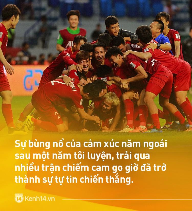 Tuyển Việt Nam chơi xuất sắc Thử thách 1 năm: Từ bất ngờ khi lọt bán kết U23 châu Á đến hiên ngang vào tứ kết ASIAN Cup 2019 - Ảnh 5.