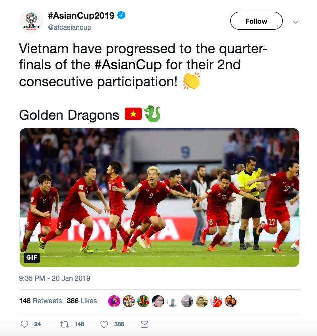 Báo nước ngoài đồng loạt đưa tin Việt Nam vào tứ kết: Rồng vàng Châu Á, sẽ đánh bại Nhật Bản ở Asian Cup - Ảnh 6.