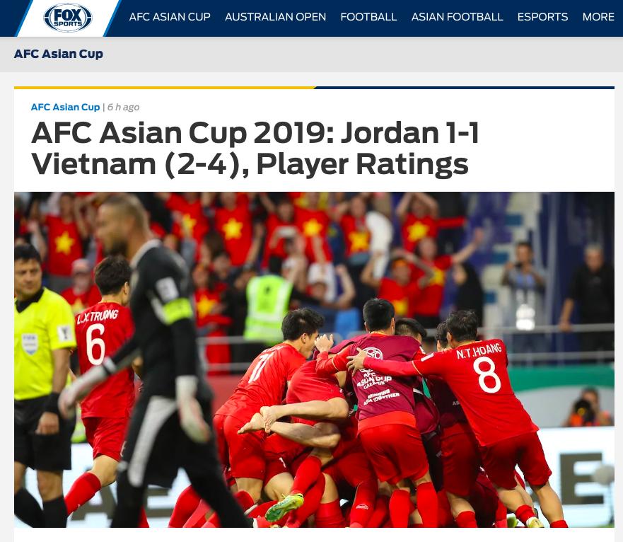 Báo nước ngoài đồng loạt đưa tin Việt Nam vào tứ kết: Rồng vàng Châu Á, sẽ đánh bại Nhật Bản ở Asian Cup - Ảnh 4.