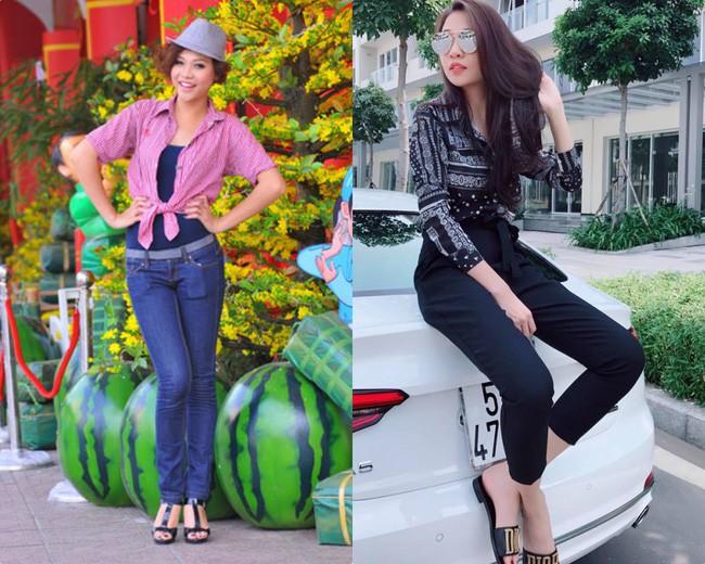 Dù rời khỏi showbiz nhưng sự thay đổi nhan sắc và phong cách của Đàm Thu Trang khiến ai cũng bất ngờ - Ảnh 4.