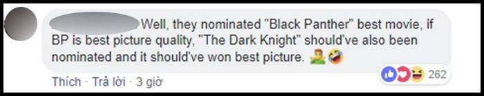 Hậu đề cử Oscar 2019: Dân mạng rần rần chửi bới Viện Hàn lâm vì đề cử Black Panther là Phim Xuất sắc - Ảnh 9.