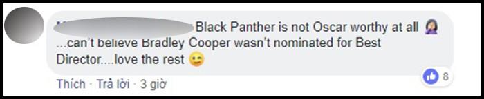 Hậu đề cử Oscar 2019: Dân mạng rần rần chửi bới Viện Hàn lâm vì đề cử Black Panther là Phim Xuất sắc - Ảnh 10.