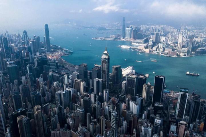 Góc nhìn độc đáo về Hong Kong qua những bức ảnh chụp từ trên cao - Ảnh 12.
