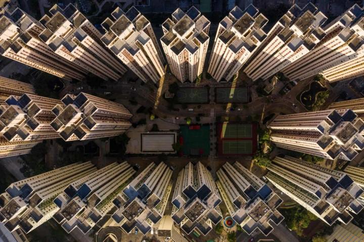 Góc nhìn độc đáo về Hong Kong qua những bức ảnh chụp từ trên cao - Ảnh 13.