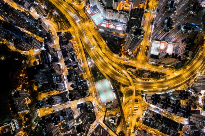 Góc nhìn độc đáo về Hong Kong qua những bức ảnh chụp từ trên cao - Ảnh 3.