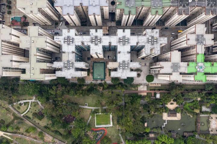 Góc nhìn độc đáo về Hong Kong qua những bức ảnh chụp từ trên cao - Ảnh 9.