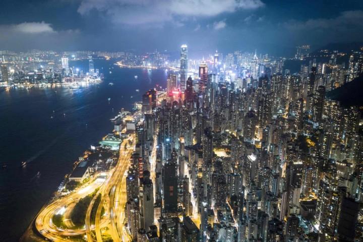 Góc nhìn độc đáo về Hong Kong qua những bức ảnh chụp từ trên cao - Ảnh 10.