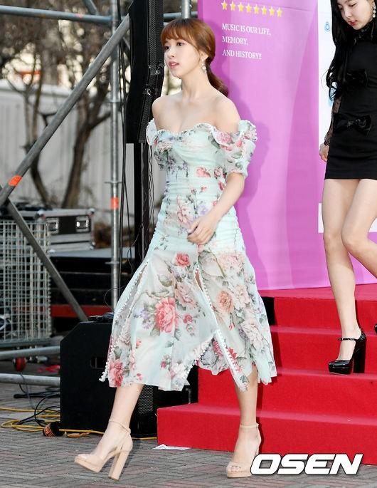Hơn 80 sao Hàn đổ bộ thảm đỏ Gaon 2019: Tzuyu xuất sắc, nữ thần lai và mỹ nhân TWICE gây chú ý vì vòng 1 đốt mắt - Ảnh 6.