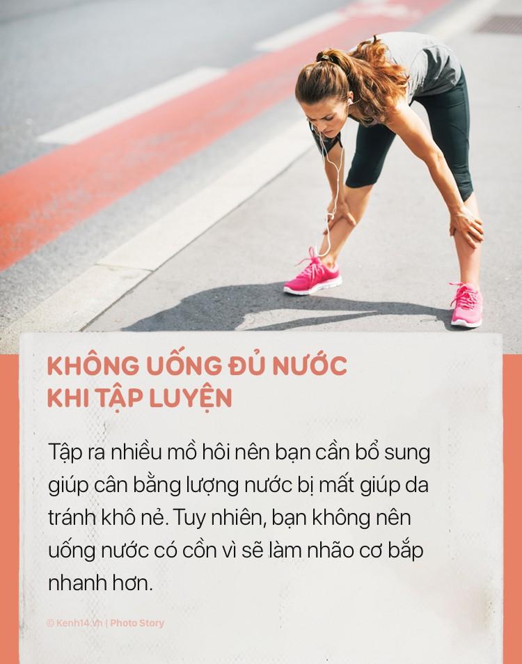 Tập thể dục rất tốt cho cơ thể nhưng hãy chú ý những sai lầm sau để tránh gây hại cho sức khoẻ và khiến bạn già đi trước tuổi - Ảnh 9.