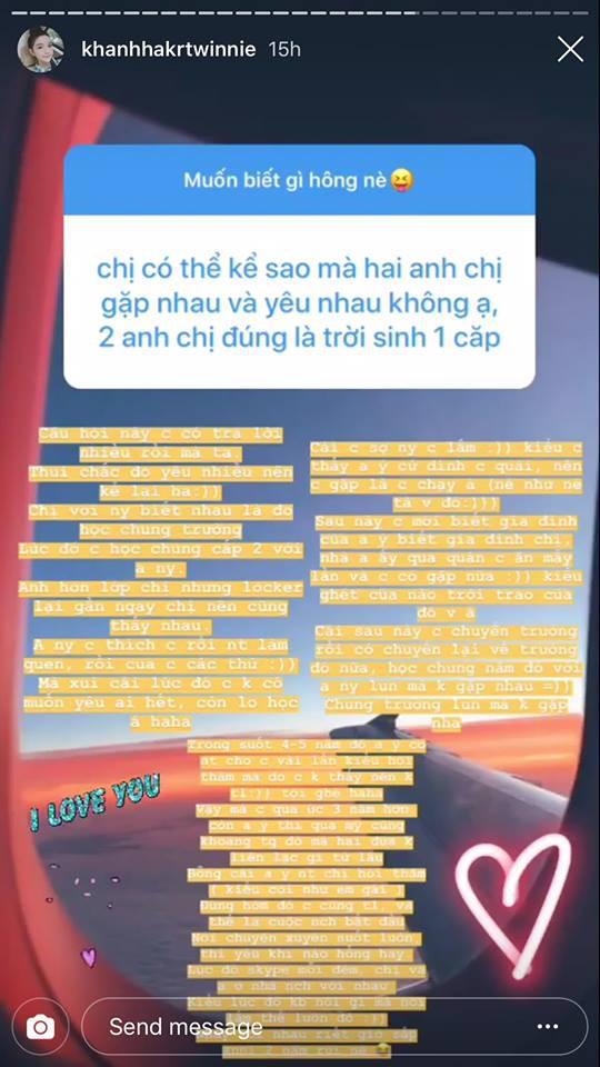 """Bạn gái thiếu gia Phan Hoàng tiết lộ từng né người yêu như """"né tà"""", nhưng ghét của nào trời trao của ấy! - Ảnh 2."""