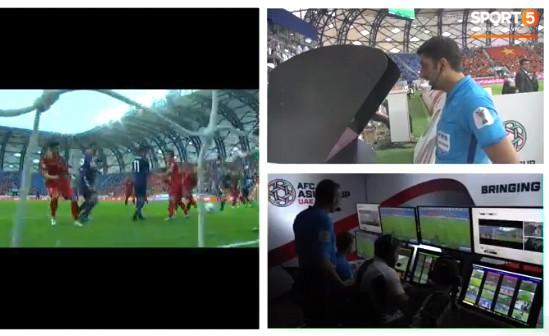 VAR được sử dụng và bàn thắng của Nhật Bản bị từ chối.