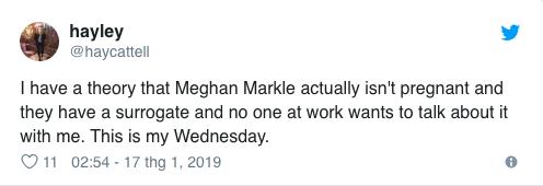 Rộ tin đồn công nương Meghan mang thai giả gây hoang mang truyền thông phương Tây - Ảnh 3.