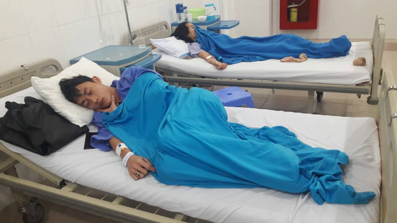 Nearly 30 people were hospitalized due to postnatal poisoning in Danang - picture 2.