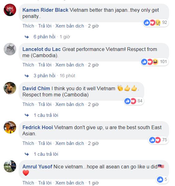 Cả Đông Nam Á tự hào về màn trình diễn tuyệt vời của tuyển Việt Nam trước Nhật Bản - Ảnh 3.