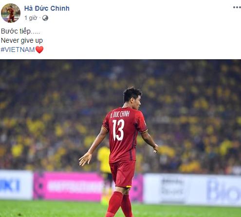 Hà Đức Chinh mang theo tinh thần lạc quan và quyết tâm lớn hơn sau Asian Cup.