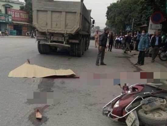 Thiếu phụ mang thai đôi 7 tháng tử vong thương tâm sau va chạm với xe tải - Ảnh 1.