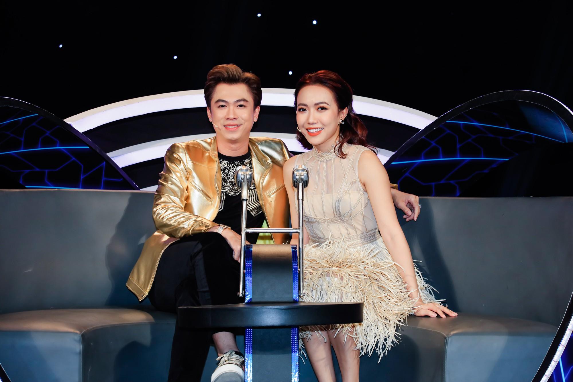 Hòa Minzy - Huỳnh Lập trở thành cặp đôi HLV của Tuyệt đỉnh song ca nhí - Ảnh 6.