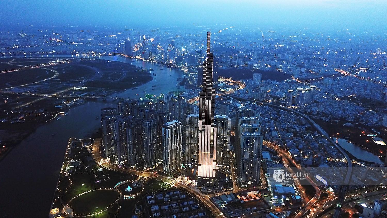 Toà nhà cao nhất Việt Nam - Landmark 81 sẽ là điểm bắn pháo hoa đêm giao thừa Tết Kỷ Hợi 2019 - Ảnh 1.